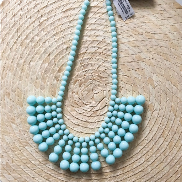 J. Crew Jewelry - Jcrew Turquoise beaded necklace